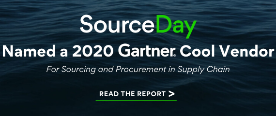 SourceDay Named a Gartner Cool Vendor!